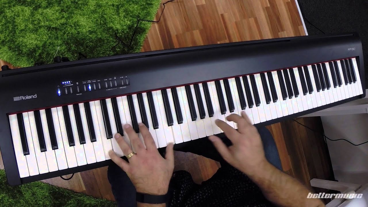 Roland Fp 30 Digital Piano W Speakers Black Higho Music